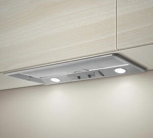 New Elica Twin Motor 72cm Integrated Canopy Extractor Powerful Cooker Hood HT80