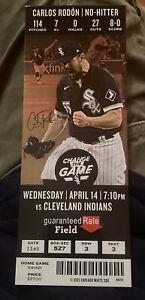 Carlos Rodon Chicago White Sox MLB No Hitter Ticket Stub - Apr 14 2021