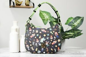 Dooney & Bourke Disney Pixar Fest 2020 Character Print Hobo Handbag Shoulder Bag