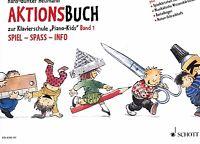 Klavier Noten : Aktionsbuch 1 (zu Piano Kids Band 1 Schule) - Heumann  Anfänger