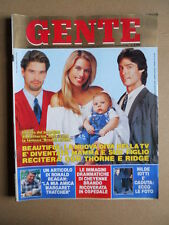 GENTE 49 1990 Beautiful Brooke Logan Lorella Cuccarini Giuseppe Ricci Oddi [D52]