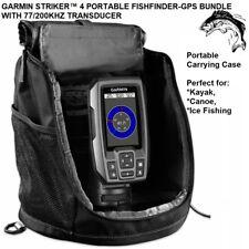 GARMIN STRIKER™ 4 PORTABLE FISHFINDER-GPS BUNDLE WITH 77/200KHZ TRANSDUCER 58948