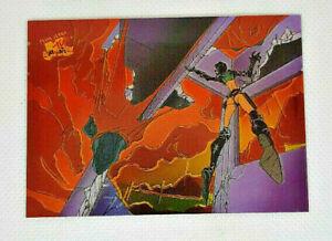 1995 - Fleer Ultra MTV Animation Through The Ruins - Aeon Flux Chromium # 7