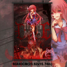 The Future Diary Gasai Yuno Mirai Nikk Japan Anime Wall Scroll Poster Decor Gift