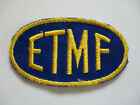 vintage+1960+ETMF+East+Texas+Motor+Freight+Trucker+Truck+Driver+Trucking+Patch