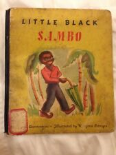 Rare Book, Domesday Edition Little Black Sambo, 1945