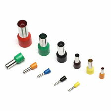 Aderendhülsen 0,5-50 mm² isoliert Aderendhülse Crimp Stecker Verbinder