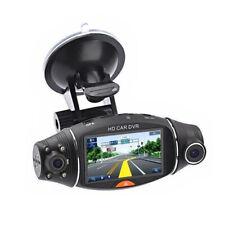 Dual Lens Full HD 1080P Vehicle Car DVR Dash Cam Video Recorder G-Sensor Camera