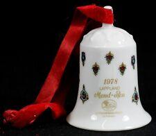 HUTSCHENREUTHER - Glocke WEIHNACHTSGLOCKE Samtband 1978 Lappland - OLE WINTHER