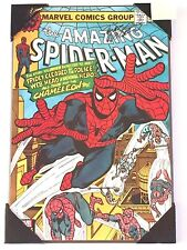 Hand Signed Marv Wolfman Marvel Comics Amazing Spiderman # 186 Cover Wall Plaque