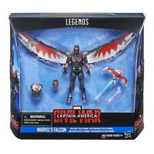 Marvel Legends Series Marvel's 3 .75 inch Falcon with Flight Tech and Redwing