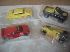 1994 HOT WHEELS SHELL OIL PROMO 4 CARS MERCURY, BYWAYMAN, TURBO STREAK, ZENDER
