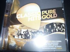 Classic Hits Pure Gold Various 2 CD Aha Roxette Abba Psuedo Echo Toto Kiss Queen