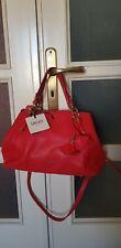 LIU JO borsa donna ecopelle rossa con accessori dorati e custodia ORIGINALE