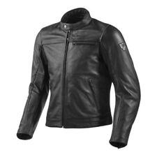 Giacche nero con catarifrangente per motociclista taglia 52