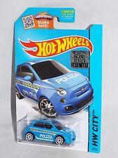 Hot Wheels 2015 FACTORY SET 1/450 TREASURE HUNT Error City #50 Fiat 500