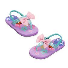 Disney Sofia the First Flipflops & Sunglasses Combo Set Girls Toddler Size 5/6