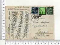 "13722) GERMANY 10.11.34 PC ""Heidelberg"" Ludwigshafen Taggia"