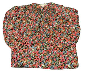 BONPOINT Girls' Liberty Floral Print Tunic BLOUSE SIZE 6 YEARS