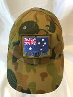 Army Australian Auscam DPCU Operator Cap with ANF Patch