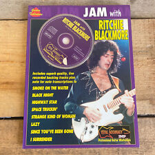 JAM WITH RITCHIE BLACKMORE GUITAR TAB & SONG BOOK +CD