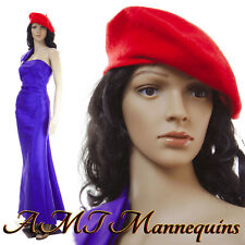 Female mannequin head and arms rotate, durable Full body manikin Maddy+2Wigs