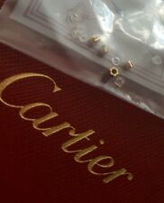 cartier eyeglasses sunglasses cups and bushing 4 holes gold 18k