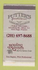 New listing Matchbox - Putter's Restaurant Milton NJ Bowling Green Golf Tennis Club WEAR