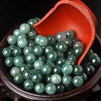 30PCS Natural Grade A Jade (Jadeite) loose Round bead/ Size: 5mm (Wholesale)