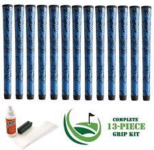 13 Winn Golf Dri-Tac DriTac X Performance Soft Blue Grips 5DTX-BLB Standard +KIT