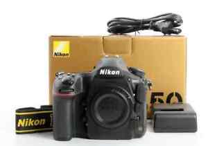 Nikon D850 45.7 MP Digital SLR Camera - Black (Body Only)