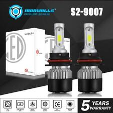 HB5 9007 COB LED Headlight Dual High Low Beam Bulbs Kit 1320W 198000LM 6000K 2X
