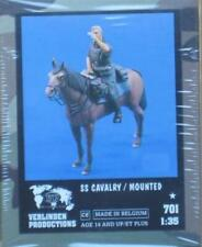 Verlinden 1:35 SS Cavalery Mounted Resin Figure Kit #701