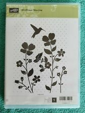 Stampin' Up! Wildflower Meadow Rubber Stamp Set & Embossing Folder