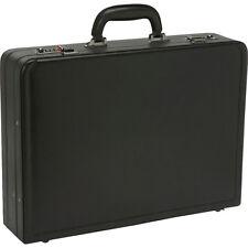Samsonite Bonded Leather Attache - Black Non-Wheeled Business Case NEW 515bf830a4abb