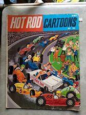 May 1965 Hot Rod Cartoons Auto Racing Drag Race Comic Book Lemmons Car Toons
