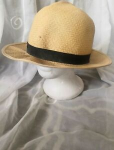 Vintage Made in England Christies of London Panama Hat , 7.5 , 61