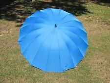 Indigo Blue  Wedding Umbrella 16 Panel Classic Design 60 Inch
