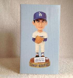 Sandy Koufax - 1972 HALL of FAME 2012 Dodgers PROMOTIONAL Bobble Bobblehead SGA