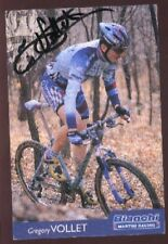 Gregory vollet cycling signed bianchi martini race autograph cycling ciclismo