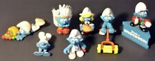 LOT of 7 Smurfs - Thanksgiving Lawnmower National Apples You're a Knockout