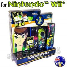 Ben 10 Ultimate Alien 5 in 1 Accessory Pack for Nintendo Wii