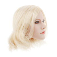1/6 Female Head Sculpt 1/6Scale Female   Woman Head Sculpt Singer 4cm