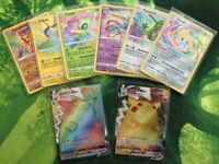 Farbenschock Pokemon Karten Auswahl Full Art/Rainbow Rare/Amazing Rare Deutsch