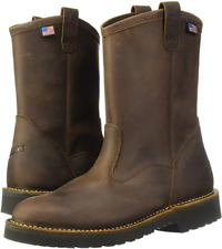 "New Mens Danner Bull Run 11"" EH Slip Resistant Wellington Boots 15580 Size 14"