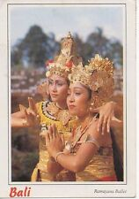 Picture Postcard Ramayana Ballet Balinese Indonesia dance Visualisation Sanskrit