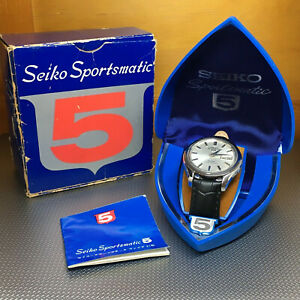 1966 SEIKO Sportsmatic 7619 9010 Vintage Automatic Day Date Watch