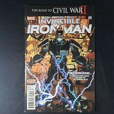Invincible Iron Man 9 NM (2015 Marvel) First Appearance Riri Williams Iron Heart