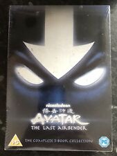 AVATAR-THE LAST AIRBENDER COMPLETE 3-BOOK COLLECTION 13-DISC DVD SET NEW SEALED