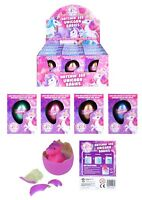 2 Hatching Egg Unicorn Babies Just Place in Water Fun Toy Gift